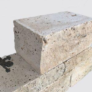 Travertin Mauersteine