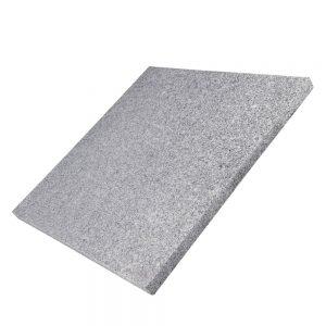 Bodenplatte 60x60x3cm, Diamond Grey geflammt